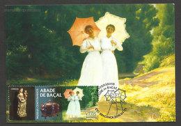 Portugal Carte Maximum Musée Abée De Baçal Peinture Printemps Veloso Salgado XX Siècle 2016 Maxicard - Moderne