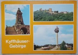 Kyffhäuser Gebirge - Rotherburg - Fernesehturm Kulpenberg - TV/Television Tower - DDR Vg    G2 - Kyffhaeuser