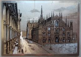 MILANO - Il Duomo - ARGENTATA - Silvered  Nv L2 - Milano