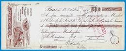 LETTRE De CHANGE Des Etablissements GOY (Spécialités Pharmaceutiques - Pharmacie) 75004 Paris - Usine 93 BAGNOLET - Bills Of Exchange