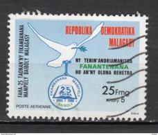 ##1, Madagascar, Malagasy, Société Biblique, Bible Society, Colombe, Dove, Oiseau, Bird, Livre, Book, Airmail, Religion - Madagascar (1960-...)