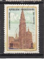 ##1, Madagascar, Malagasy, Cathédrale De Anvers Cathedral, église, Church, Airmail - Madagaskar (1960-...)