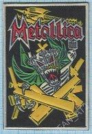 UKRAINE / Patch, Abzeichen, Parche, Ecusson / Rock Music METALLICA  Rocker Biker For Festival Poland 1994 RAR! - Patches