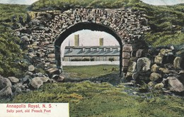 Annapolis Royal, Nova Scotia, Sally Port, Old French Fort - Other
