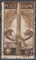 ITALIA - 1911 - Yvert 88, Usato. - 1900-44 Vittorio Emanuele III