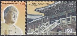 South Korea KPCC1465-6 World Heritage Site, UNESCO, Buddha, Buddhism, Patrimoine Mondial, Bouddhisme - Bouddhisme
