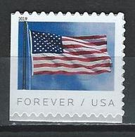USA. Scott #  MNH. American Flag From BCA Printer  2019 - Unused Stamps