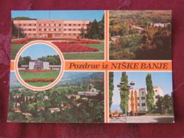 Serbia Unused Postcard Niska Banja Multiview  Gardens Panorama - Serbie