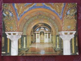 Serbia Unused Postcard Oplenac Church Inside - Serbie