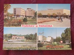 Serbia Unused Postcard Paracin Multiview Buildings Street Views - Serbie