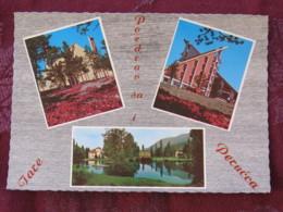 Serbia Unused Postcard Perucac Tara National Park Multiview Buildings Lake - Serbie