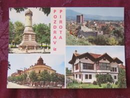 Serbia Unused Postcard Pirot Multiview - Serbie