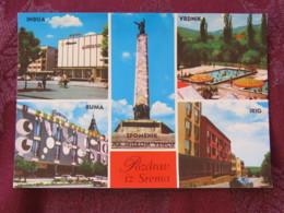 Serbia Unused Postcard Sirmia VoJvodina Multiview Ruma Irig Indija Spomenik Vrdnik - Serbie