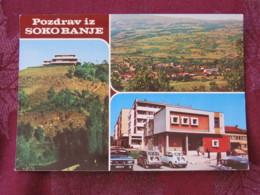 Serbia Unused Postcard Sokobanja Multiview Panorama Hotels - Serbie