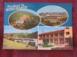 Serbia Unused Postcard Sokobanja Multiview  Hotels - Serbie