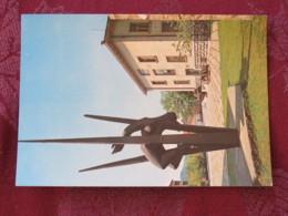 Serbia Unused Postcard Uzice Titovo War Museum Tank Flags Statue - Serbie