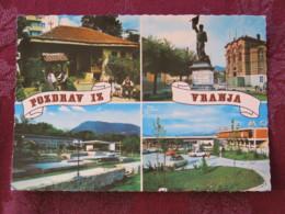 Serbia Unused Postcard Vranje Multiview Statue - Serbie