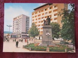 Serbia Unused Postcard Zajecar Street View Monument - Serbie