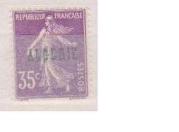 ALGERIE         N°  YVERT  :   18   NEUF SANS   CHARNIERES      ( Nsch 1/15  ) - Algérie (1924-1962)