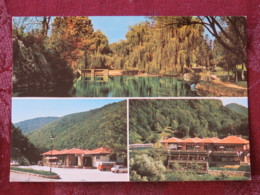 Serbia Unused Postcard Zagubica Multiview Parks Motel Vrelo Mlave Motel Gornjak Klisura - Serbie