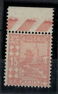 ALGERIE         N°  YVERT  :   39   ( Brun Pâle )         NEUF SANS   CHARNIERES      ( Nsch 1/15  ) - Algérie (1924-1962)