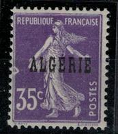 ALGERIE         N°  YVERT  :   18 ( Lune à Gauche )      NEUF SANS   CHARNIERES      ( Nsch 1/15  ) - Algérie (1924-1962)