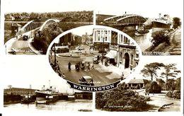 WARRINGTON   5  VUES  En 1955 , ( état ) - Angleterre