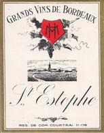 GRANDS VINS DE BORDEAUX ST.ESTEPHE  HM  (1) - Bordeaux