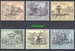 Vatican 1975 Mi 657-662 MNH ( ZE2 VTC657-662 ) - Vatican