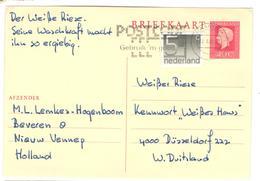 14063 - Pour L'Allemagne - Entiers Postaux