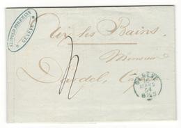 14073 - Pour La SAVOIE SARDE - 1854-1862 Helvetia (Non Dentellati)