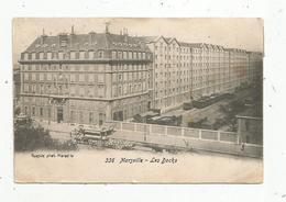 Cp , 13 , MARSEILLE , Les Docks ,phot. Gende ,n° 336,  Voyagée 1904 - Joliette, Zone Portuaire