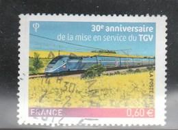 FRANCE 2011 TGV OBLITERE A DATE YT 4592  - - France