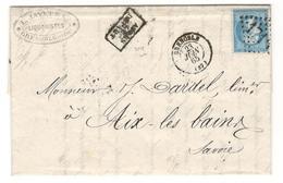 14076 - LIQUORISTES - GENEPY DES ALPES - Marcophilie (Lettres)