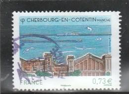FRANCE 2017 CHERBOURG EN COTENTIN MANCHE OBLITERE YT 5163 (note) - France