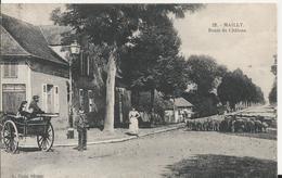 Carte Postale Ancienne De Mailly-champagne Route De Chalons - France