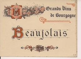GRANDS VINS DE  BOURGOGNE  BEAUJOLAIS  HM  (1) - Beaujolais