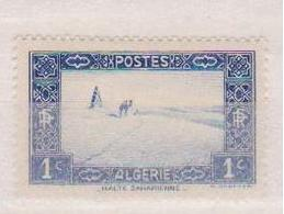 ALGERIE         N°  YVERT  :   101       NEUF AVEC  CHARNIERES      ( Ch 1/16  ) - Neufs