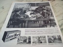 ANCIENNE PUBLICITE ECOLE ET SAINT MARC  1960 - Publicité