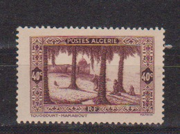 ALGERIE         N°  YVERT  :   110       NEUF AVEC  CHARNIERES      ( Ch 1/16  ) - Algérie (1924-1962)