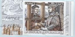 FRANCE 2017 ISSU BLOC LES GRANDES HEURES DE L HISTOIRE OBLITERE YT 5162 - France