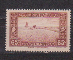ALGERIE         N°  YVERT  :   113       NEUF AVEC  CHARNIERES      ( Ch 1/16  ) - Algérie (1924-1962)