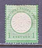 GERMANY  21     *  LARGE  SHIELD - Unused Stamps