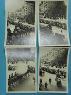 6 Photos D'amateur De L'Ommegang En 1930 (Char De Voyage, Les Gendarmes, Un Géant, Les Magistrats...) - Lieux