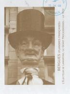BERGUES 59 NORD - L ELECTEUR DE LAMARTINE, LA TETE DU GEANT PROCESSIONNEL - FLAMME NEOPOST 2008, VOIR LES SCANNERS - Costumes