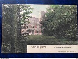 Court-Saint-Etienne/-cpa Du Château Du Bourgmestre - Court-Saint-Etienne