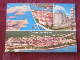 Croacia Unused Postcard Zadar Zadra Multiview Panorama Islands Church - Croatie