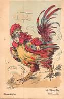 """Illustrateur ROBERT- Chantecler -n°14 Le Vieux Coq """"La Provocation"""" - Robert"""