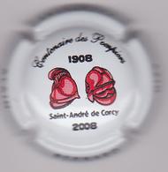 Capsule Champagne BERNARD Alain ( 10 ; Centenaire Des Pompiers SAINT-ANDRE DE CORCY ) {S08-19} - Non Classés