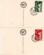 FRANCE - 1937 - Victoire De Samothrace - YT 354-355 - 1930-39